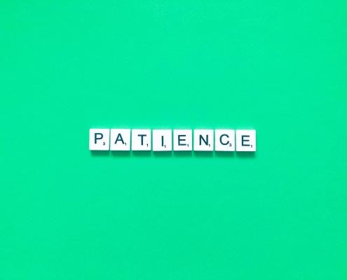 patience in italian